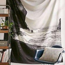 LiangDa Wandteppich Schlafzimmer Wohnzimmer Tapete