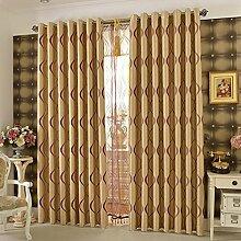 LIANGLAOI Gardinen für Wohnzimmer, Modern
