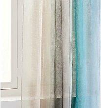 LIANGLAOI Gardinen Vorhang Multicolor Muster