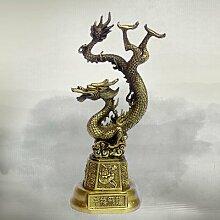 Liangliang988Kupfer Fly Dragon Ornament