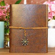 LIANGRAN Fotoalbum Scrapbook DIY Leder DIY