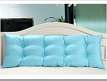LIANJUN Alle Baumwolle Rein / einfach Stützbettkissen Bett weiche Tasche Kissen- Zwillingsgröße/ Full Size / Queen Size / König Größe (5 Größen) Bettwäsche Zubehör ( Farbe : 3* , größe : 100*18*53cm )