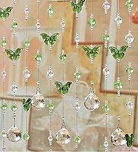 LIANJUN Innen Türvorhang Perlen-Vorhang