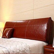 LIANJUN PU Unterstützung Bedside Kissen Bett Kopf Kissen Kopfteil Kissen- Allgemein- Twin Size / Full Size / Queen Size / King Size Bettwäsche Zubehör ( Farbe : 3* , größe : A-180*12*55cm )
