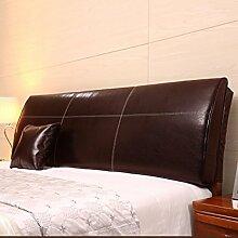 LIANJUN PU Unterstützung Bedside Kissen Bett Kopf Kissen Kopfteil Kissen- Allgemein- Twin Size / Full Size / Queen Size / King Size Bettwäsche Zubehör ( Farbe : 2* , größe : A-180*12*55cm )