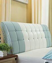 LIANJUN PU Unterstützung Bedside Kissen Bett Kopf Kissen Soft Bag Lesung Rückenlehne Kopfteil Kissen-Allgemein (6 Größen) Bettwäsche Zubehör ( Farbe : 5* , größe : 120*8*63cm )