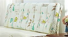 LIANJUN S-förmige Unterstützung Bedside Kissen Bett Kopf Kissen Kopfteil Kissen-General- Twin Size / Full Size / Queen Size / King Size Bettwäsche Zubehör ( größe : 160*12*58cm )