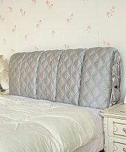 LIANJUN Seide Tuch Abnehmbare Unterstützung Bedside Kissen Lesung Rückenlehne-Kopfteil-Baby Bett / Twin / Full / Queen / King Größe Bettwäsche Zubehör ( Farbe : #7 , größe : 95*6*60cm )