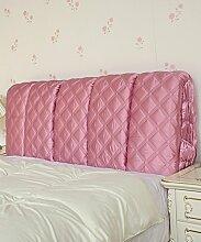 LIANJUN Seide Tuch Abnehmbare Unterstützung Bedside Kissen Lesung Rückenlehne-Kopfteil-Baby Bett / Twin / Full / Queen / King Größe Bettwäsche Zubehör ( Farbe : #8 , größe : 195*6*60cm )