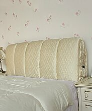 LIANJUN Seide Tuch Abnehmbare Unterstützung Bedside Kissen Lesung Rückenlehne-Kopfteil-Baby Bett / Twin / Full / Queen / King Größe Bettwäsche Zubehör ( Farbe : #3 , größe : 185*6*60cm )