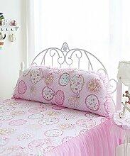LIANJUN Soft Support Bedside Kissen Soft Bag Bett Kissen mit abnehmbaren Tasten -Twin Größe / Full Size / Queen Größe (3 Größen) Bettwäsche Zubehör ( Farbe : 3* , größe : 150*10*50cm )