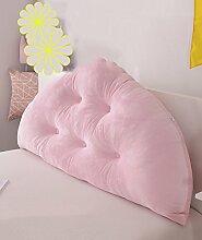 LIANJUN weich Samt Bedside-Stützkissen verschmust Bed Head Pillow Leseständer abnehmbares Knöpfe- Baby-Bett / Twin Size / Full Size / Queen-Size / king Size Bettwäsche Zubehör ( Farbe : 5* , größe : 120*10*70CM )