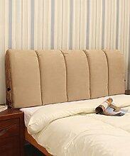 LIANJUN Wildleder weiche abnehmbare Unterstützung Bedside Kissen Lesung Rückenlehne-Kopfteil-Baby Bett / Twin / Full / Queen / King Größe Bettwäsche Zubehör ( Farbe : #3 , größe : 95*6*60cm )