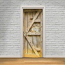 LianLe Türtapete selbstklebend Fototapete Tür