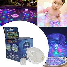 Lianqi Wasserdichte LED-Schwimmbecken-Lichter mit