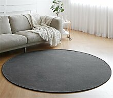 LIANTA Textil Runder Teppich-Ultra weiches