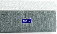 Liara Matratze - Mister Sandman - 25cm - Latex, Viscoschaum, Kaltschaum mit 7-Zonen Würfelschnitt, Größe wählbar, 2in1 Härtegrade, Bezug waschbar, Made in Germany, Öko-Tex (60 x 120 cm)