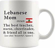 Libanesische Mutter Definition Libanon Flagge
