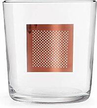 Libbey - DOF Cidra - Tactile Gold - Glas - klar -
