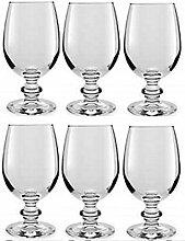 Libbey Essenza 6er Set Transparentes Glas Wein