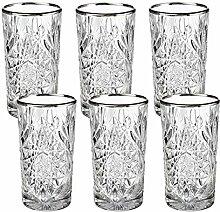 Libbey - Hobstar - Longdrinkglas, Cocktailglas