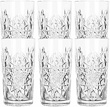 Libbey - Hobstar - Longdrinkglas, Cocktailglas,