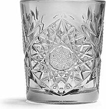 Libbey - Hobstar - Whiskyglas, Glas - Farbe: Grau