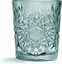 Libbey - Hobstar - Whiskyglas, Glas - Farbe: Grün