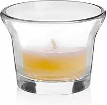 Libbey Oyster Votivkerzenhalter, Glas, 12 Stück