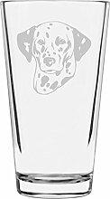Libbey Pint-Glas mit Dalmatiner-Motiv, 473 ml