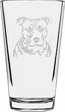 Libbey Pint-Glas mit Staffordshire