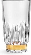 Libbey - Winchester Gold Ring - Longdrinkglas,