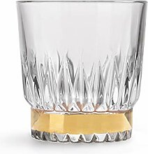 Libbey - Winchester Gold Ring - Whiskyglas, Glas,