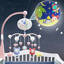 libelyef Baby Musical Krippe Mobile Mit
