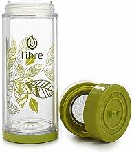 Libre Tee-Ei Thermo Doppelwandiges Glas und