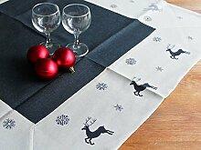 Libusch Wintertischdecke/Weihnachten-Mitteldecke