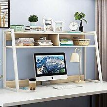 LiChaoWen Bücherregal aus Holz Industriestil