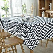 Lichll Tischdecke Polyester Haushalt Kaffetisch