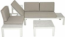 Licht-Erlebnisse Garten Lounge Set Dan 172x72x70cm