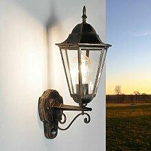 Licht-erlebnisse - Rustikale Außenleuchte mit