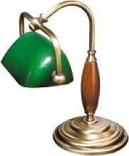 Licht-Erlebnisse Schreibtischlampe Bronzene