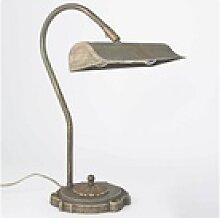 Licht-Erlebnisse Schreibtischlampe Bronzierte