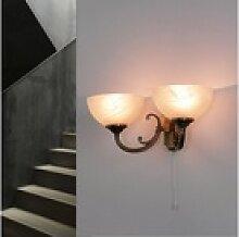 Licht-Erlebnisse Wandleuchte MARLENE Wandlampe