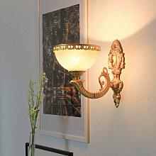 Licht-erlebnisse - Wandleuchte OLIMPIA in Messing