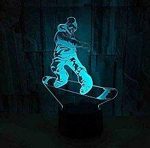 Licht Lampe Der Roller-Bewegungs-3D