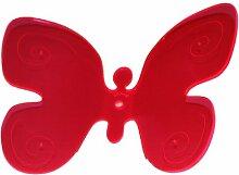 Licht & Laune® Sonnenfänger - Schmetterling, rot, B. 18 cm