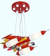Licht LED Kronleuchter Kinderzimmer Flugzeug