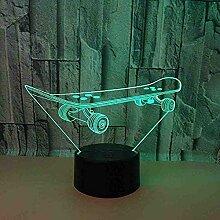 Licht Roller Führte 3D Usb Lampe Buntes