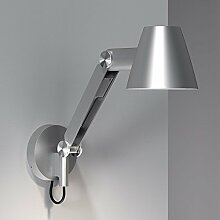 LICHT-TREND Advant / Schirm-Wandleuchte / 35 cm / grau