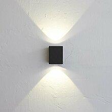 Licht-Trend Baleno Quadi / LED Wand-Aussenleuchte